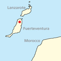 Map of Fuerteventura