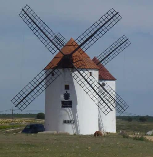Windmills, La Mancha