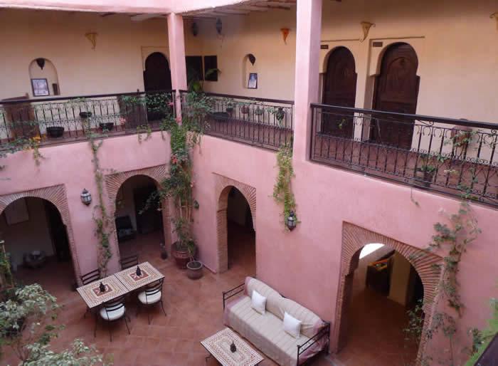Inside Atlas Kasbah